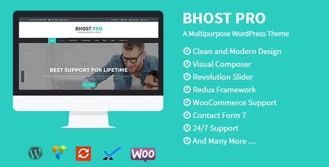 15 WordPress Themes Bundle with Extended License - Only $19 - 6 bhost