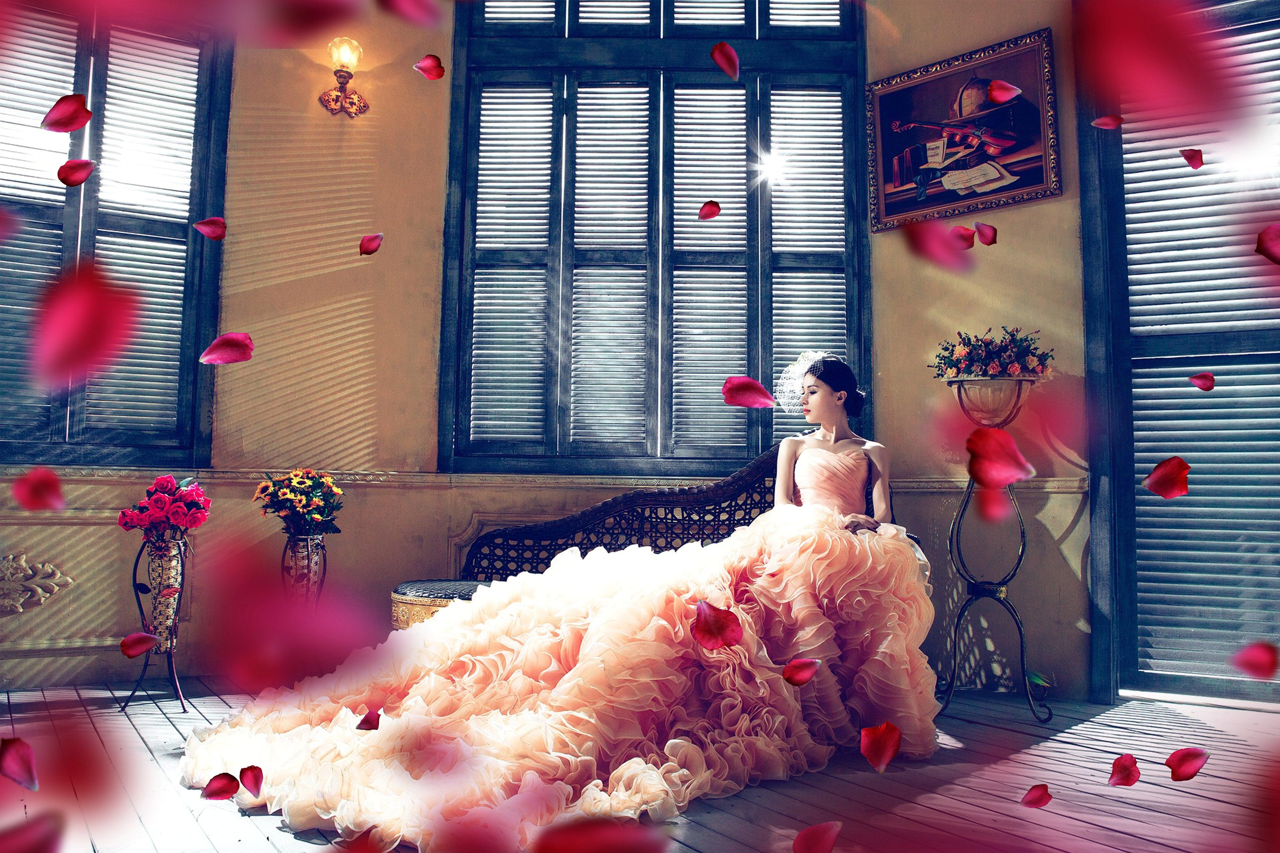 Rose Petals Overlays