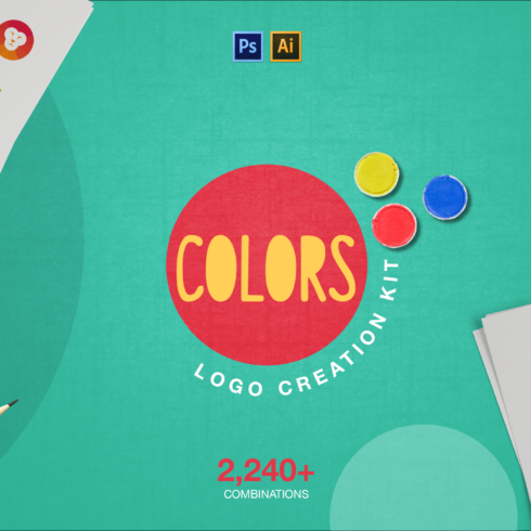 2240 Logo Combinations: Colors Creation Kit - Layer 0 490x490