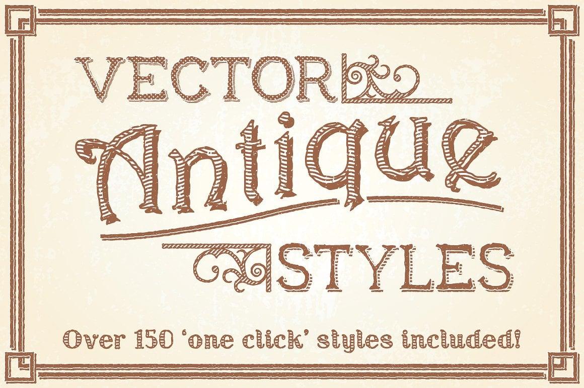 Vector Antique Styles