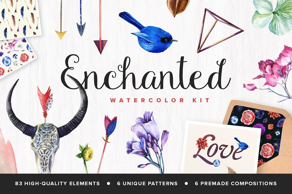 Enchanted Watercolor Kit