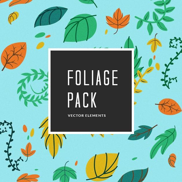 The Ultimate Creative Bundle - designtnt vector foliage small