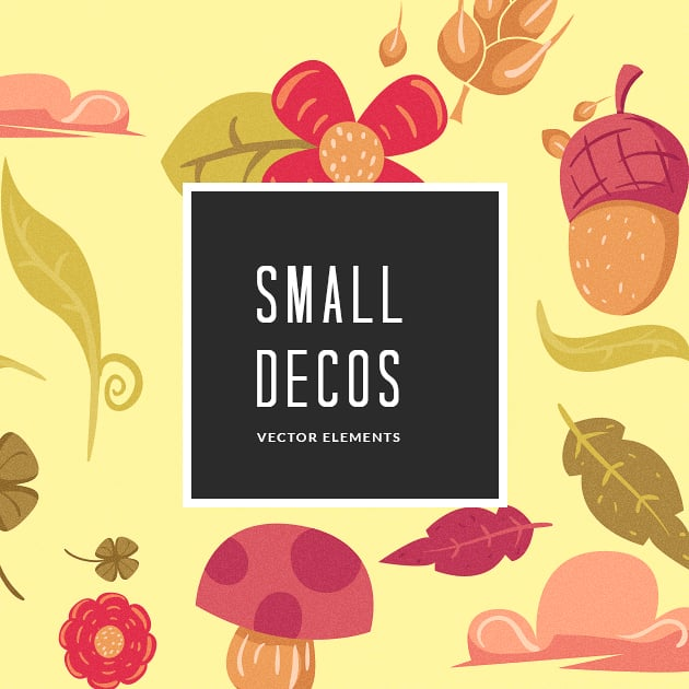 The Ultimate Creative Bundle - designtnt vector small decorations small