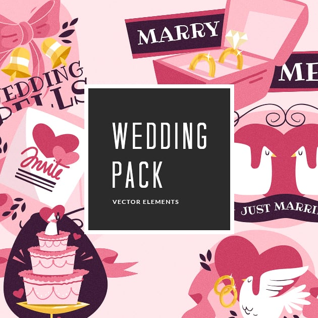 The Ultimate Creative Bundle - designtnt vector wedding small