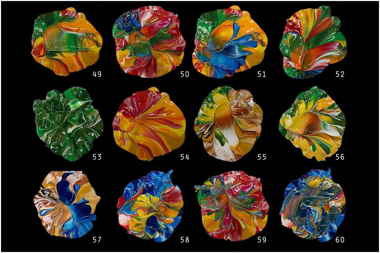 87 Handmade Golden Fluid Acrylics Paint PNG [93% Off] - p6