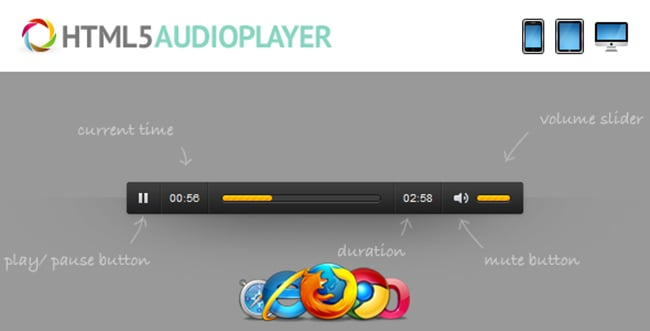 20 Scripts Bundle with Extended License - Only $14 - 13 html audio player