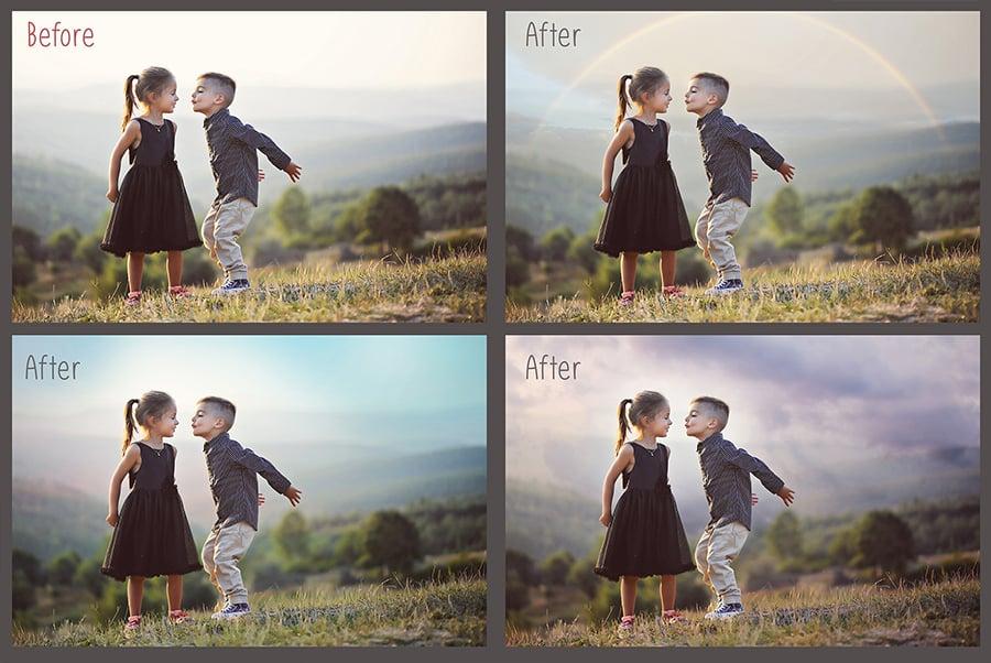 800+ Photo Overlays PNG Bundle - 2 10