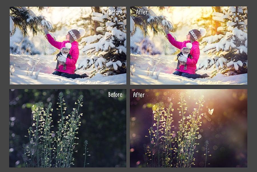 800+ Photo Overlays PNG Bundle - 4 6