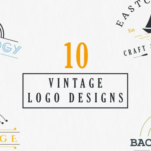 10 Vintage Logo Designs with 90% OFF - 490 3 490x490