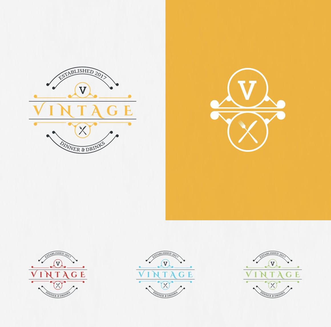 10 Vintage Logo Designs