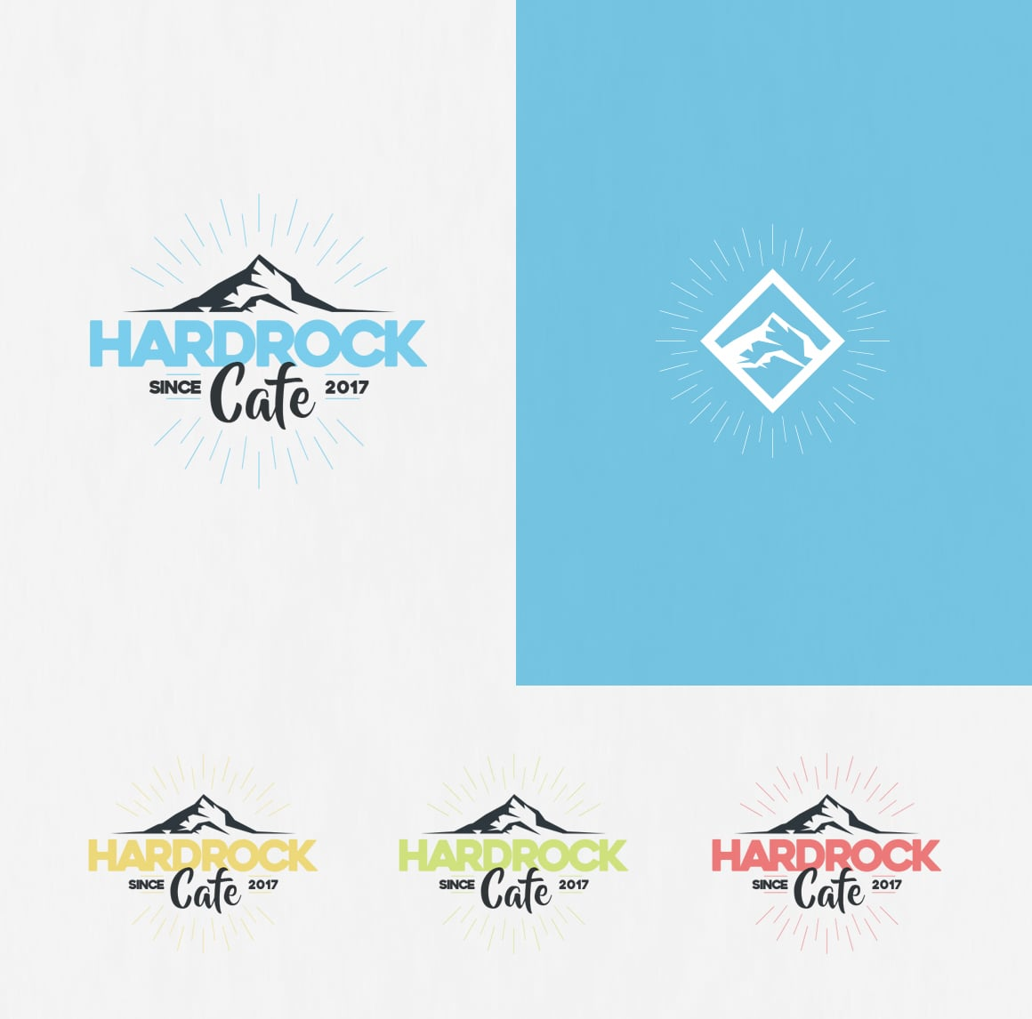 4 in 1 Logo Design Bundle - The sky is the limit - 7 1