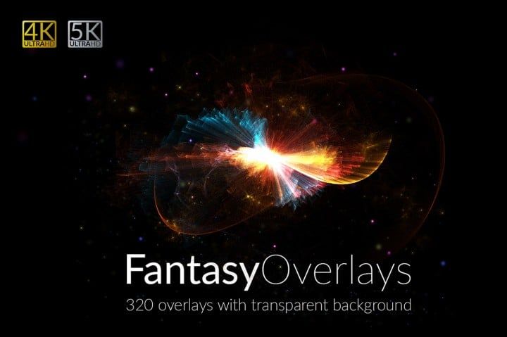 320 Fantasy Overlays with 80% OFF