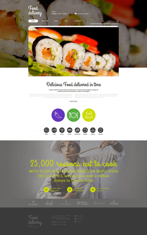 WordPress Food Blog Themes - 10 Premium WP Templates - Untitled 1