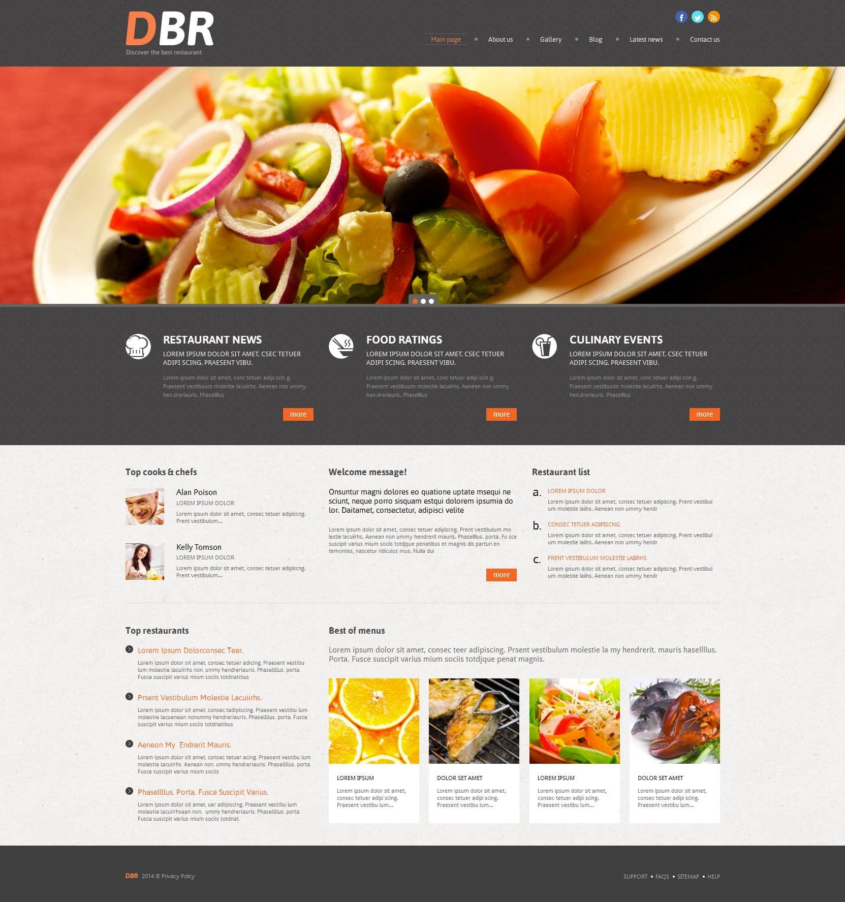 WordPress Food Blog Themes - 10 Premium WP Templates - Untitled 10