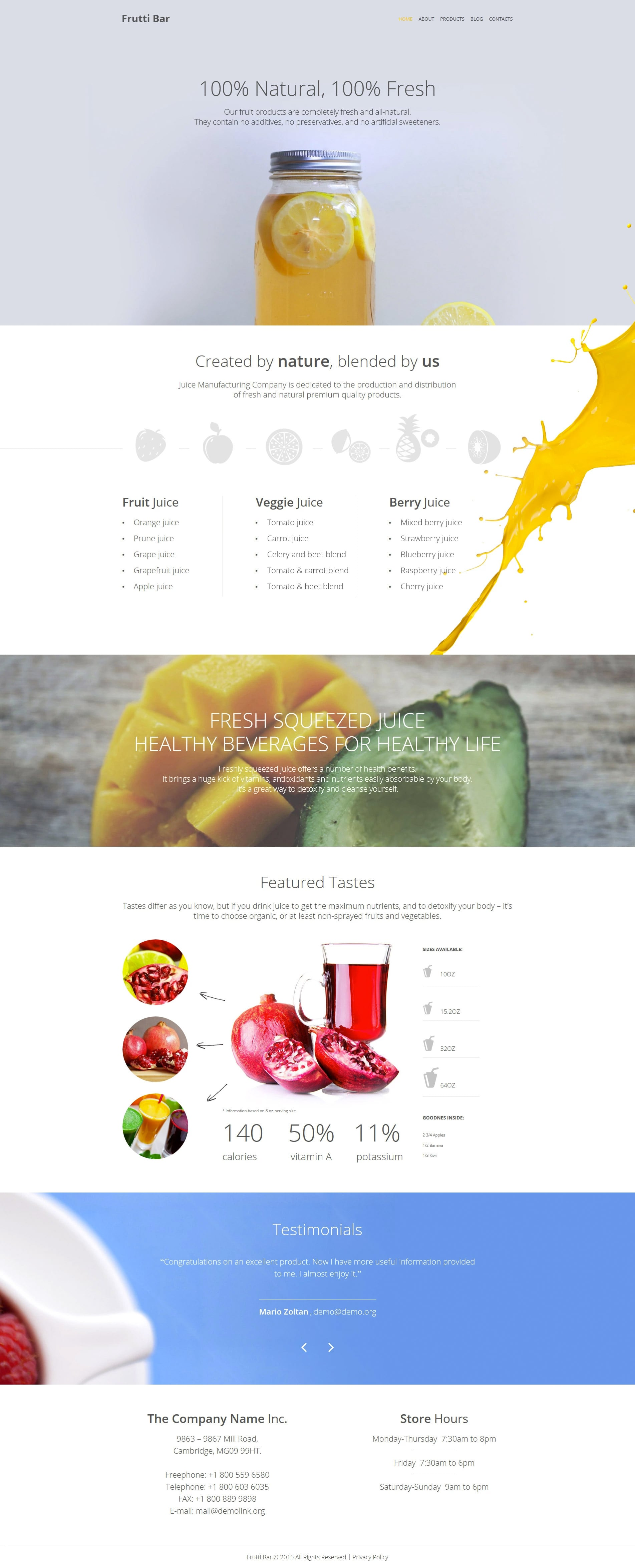 WordPress Food Blog Themes - 10 Premium WP Templates - Untitled 2