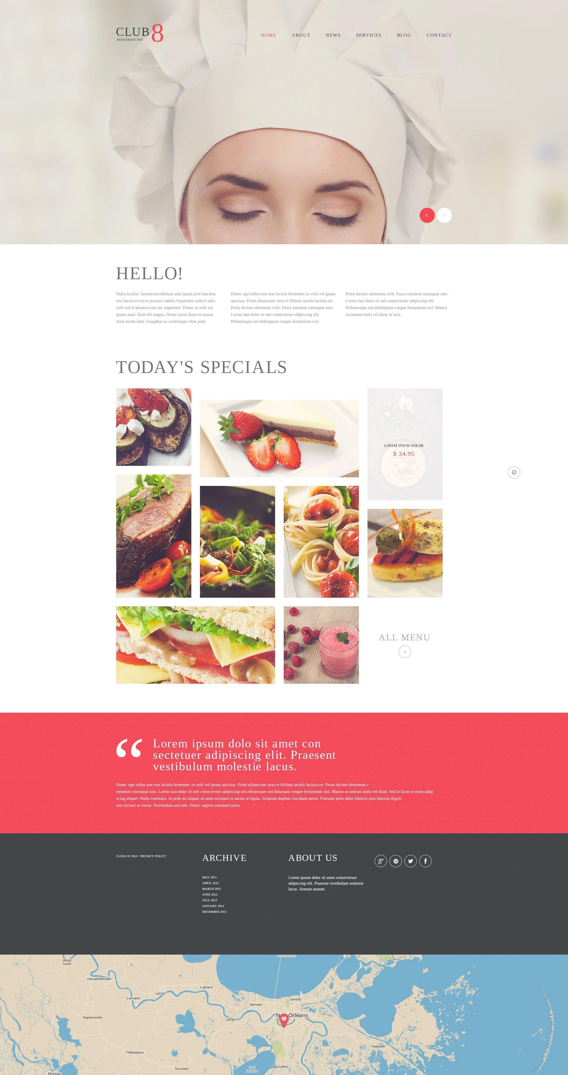 WordPress Food Blog Themes - 10 Premium WP Templates - Untitled 3