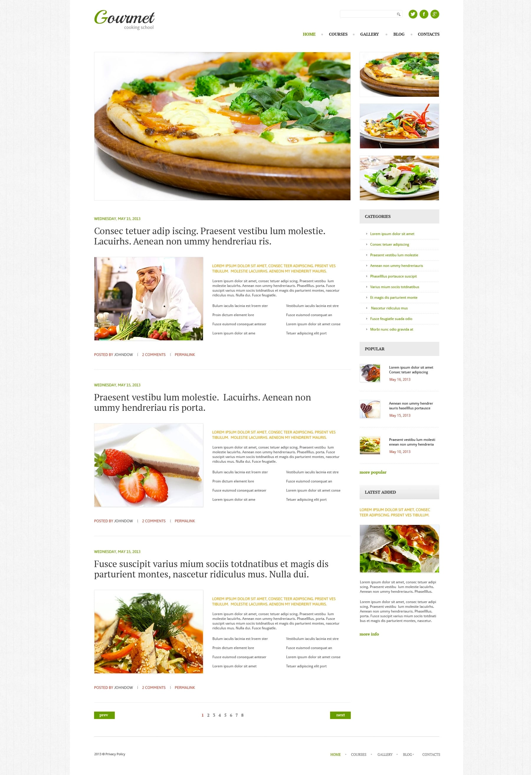 WordPress Food Blog Themes - 10 Premium WP Templates - Untitled 5