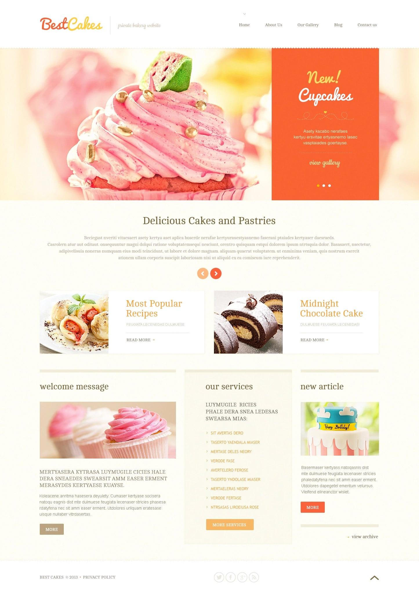 WordPress Food Blog Themes - 10 Premium WP Templates - Untitled 6