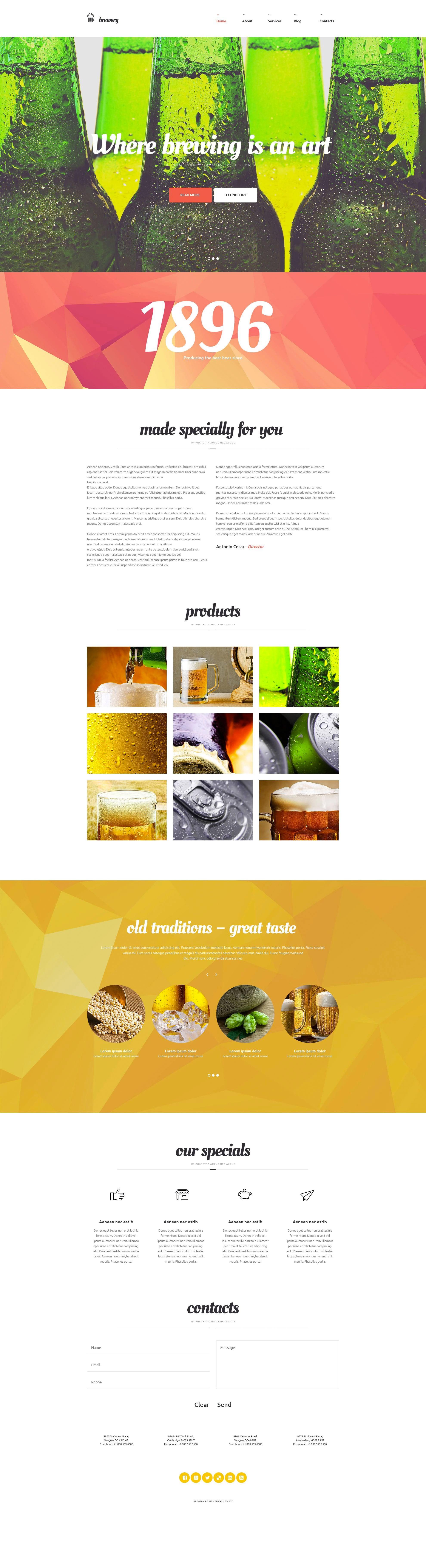 WordPress Food Blog Themes - 10 Premium WP Templates - Untitled 8