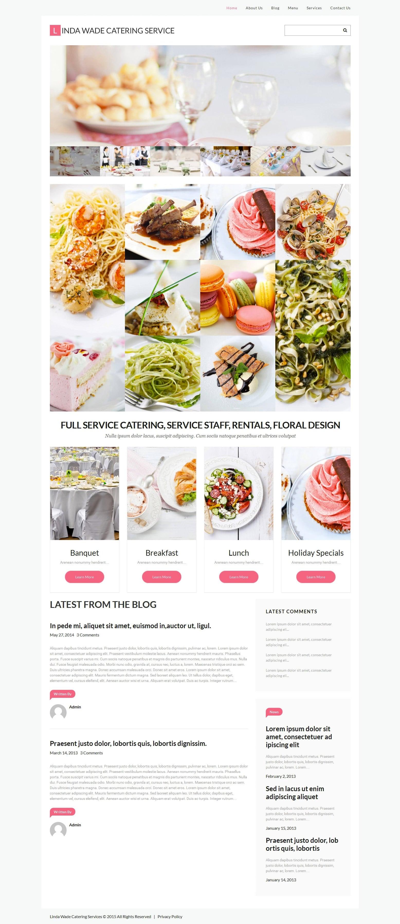WordPress Food Blog Themes - 10 Premium WP Templates - Untitled 9