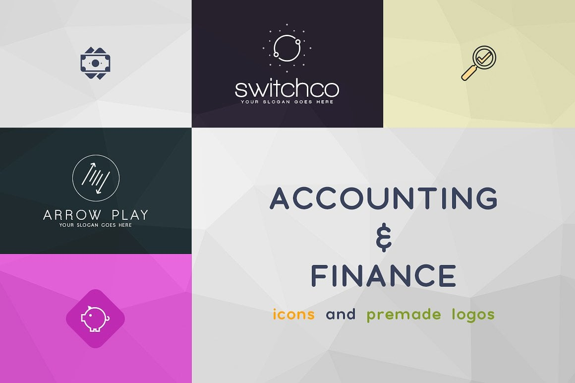 42 Accounting & Finance Icons and Logos