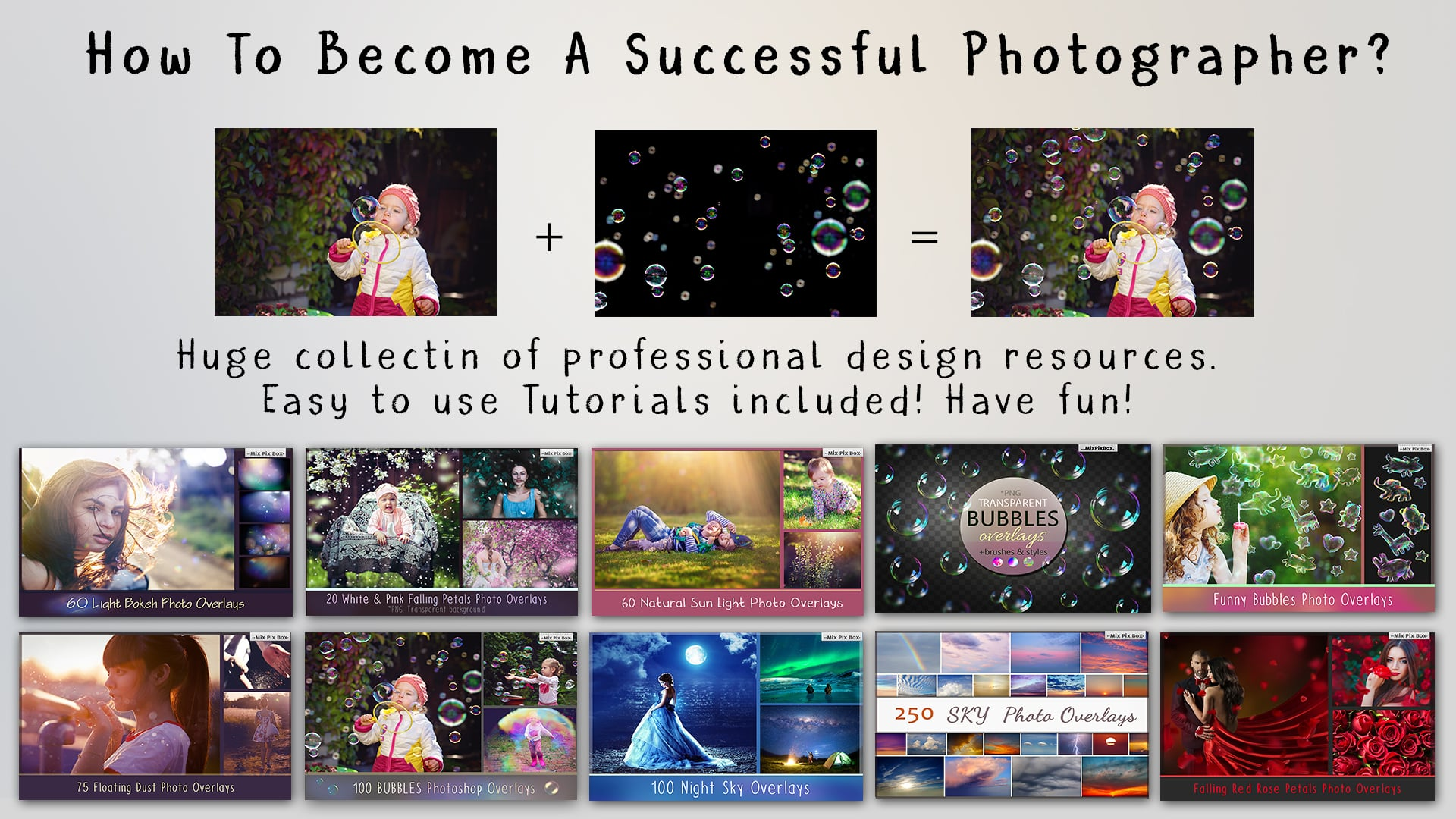 800+ Photo Overlays PNG Bundle - cover 3