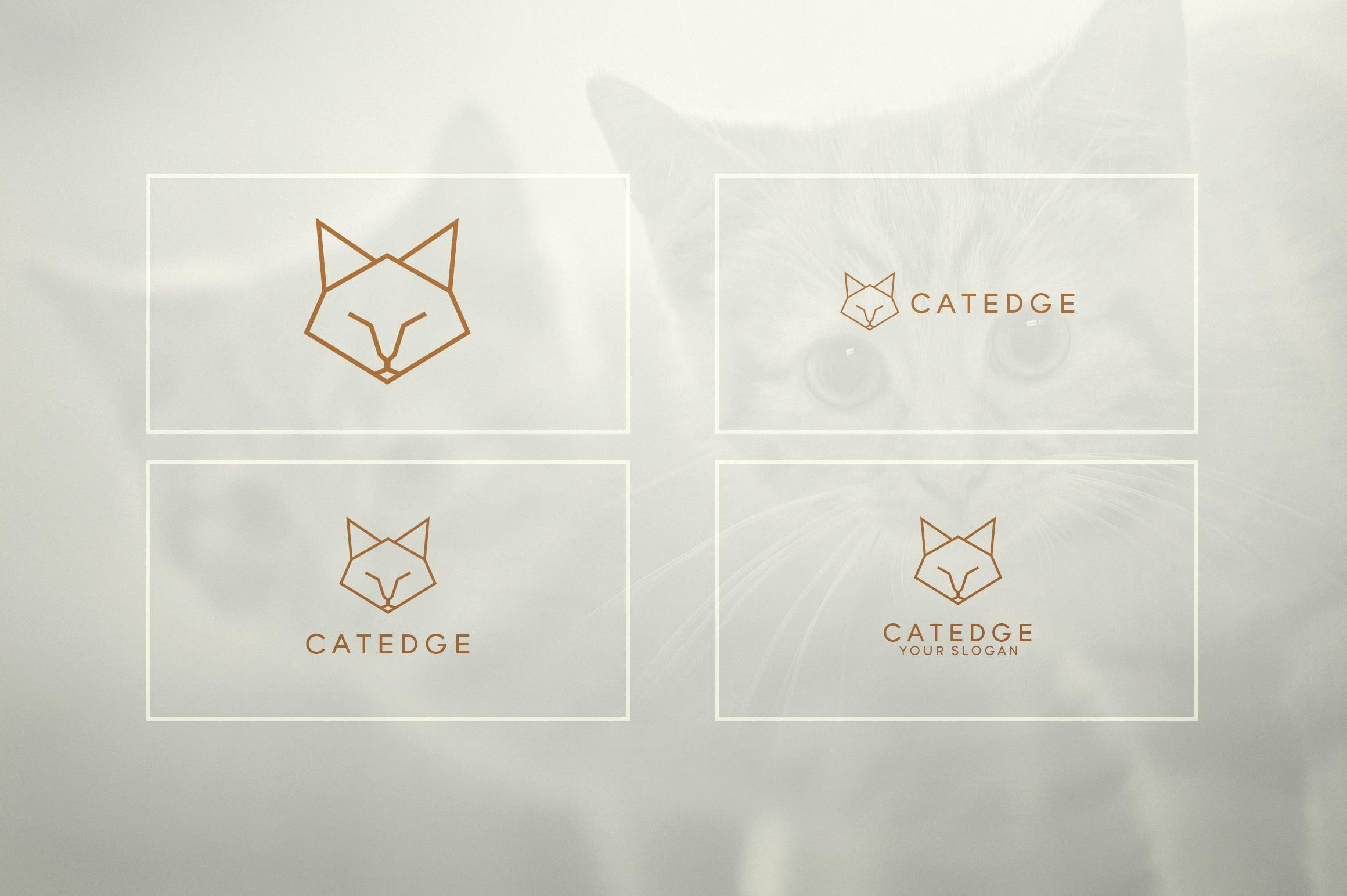 17 Geometric Animal Icons and Logos - 11
