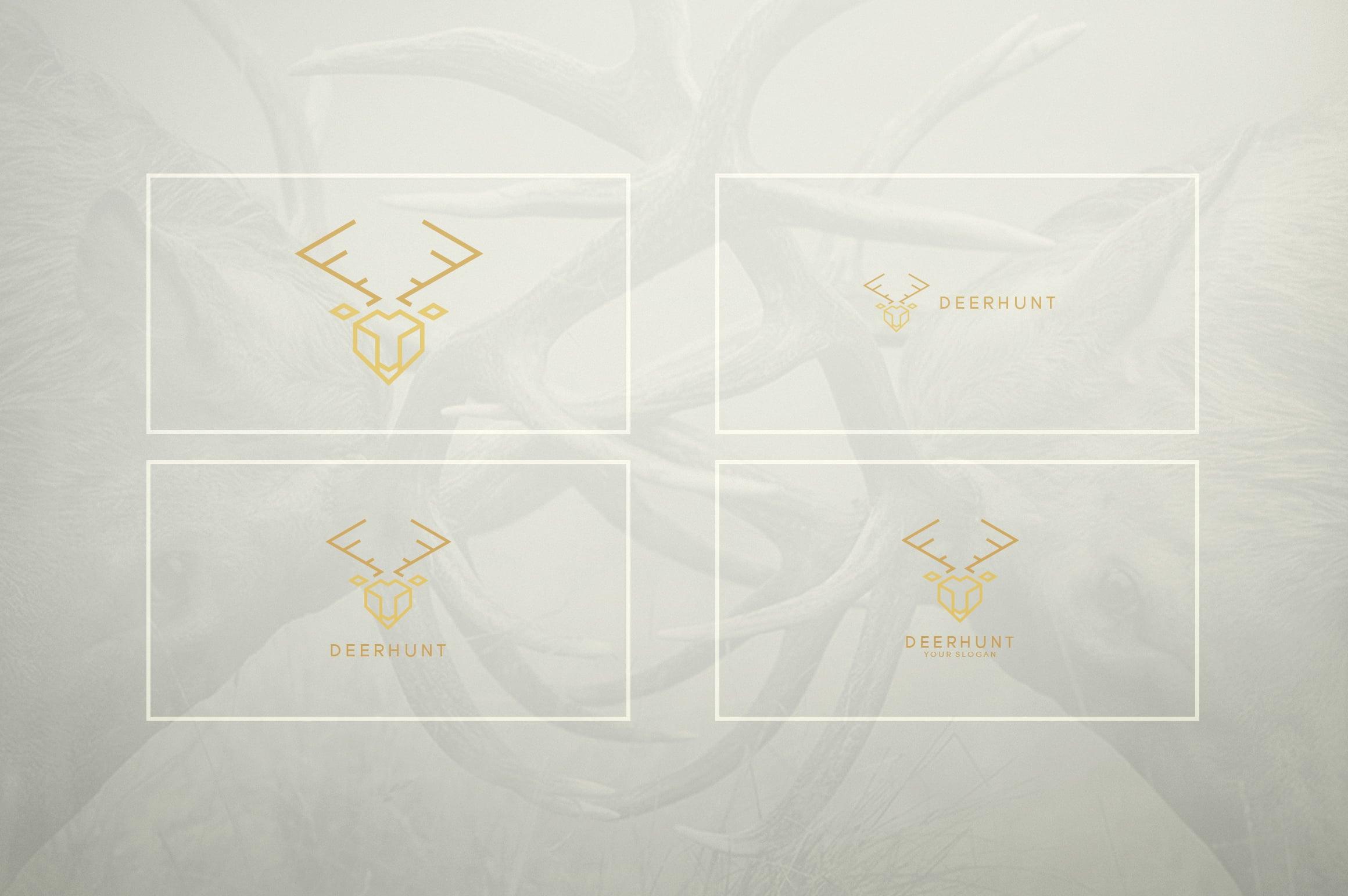 17 Geometric Animal Icons and Logos - 12