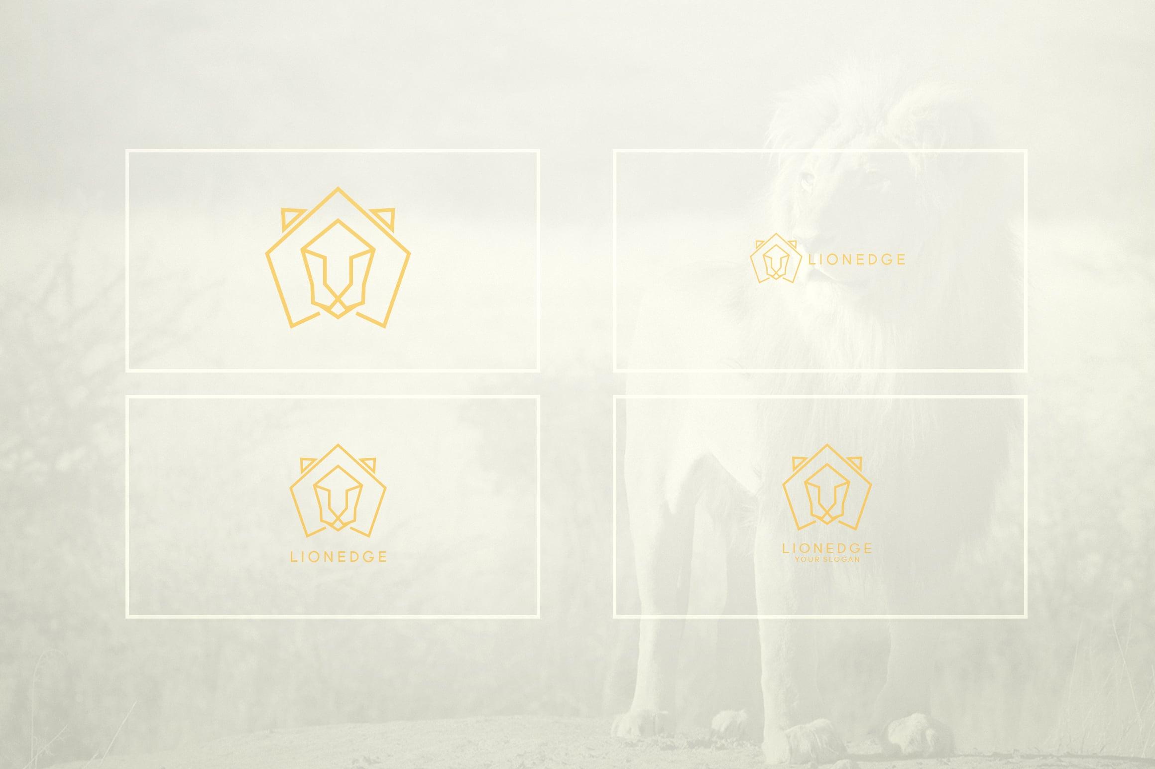 17 Geometric Animal Icons and Logos - 18