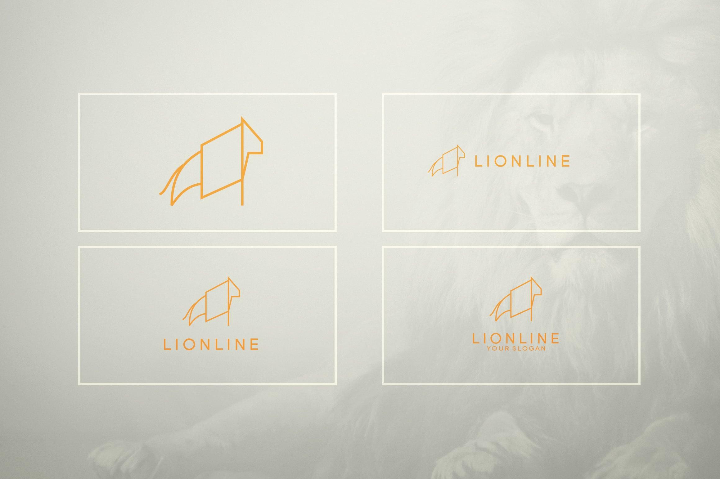 17 Geometric Animal Icons and Logos - 19
