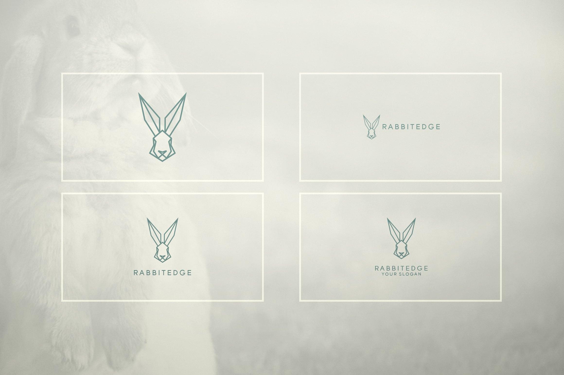17 Geometric Animal Icons and Logos - 22