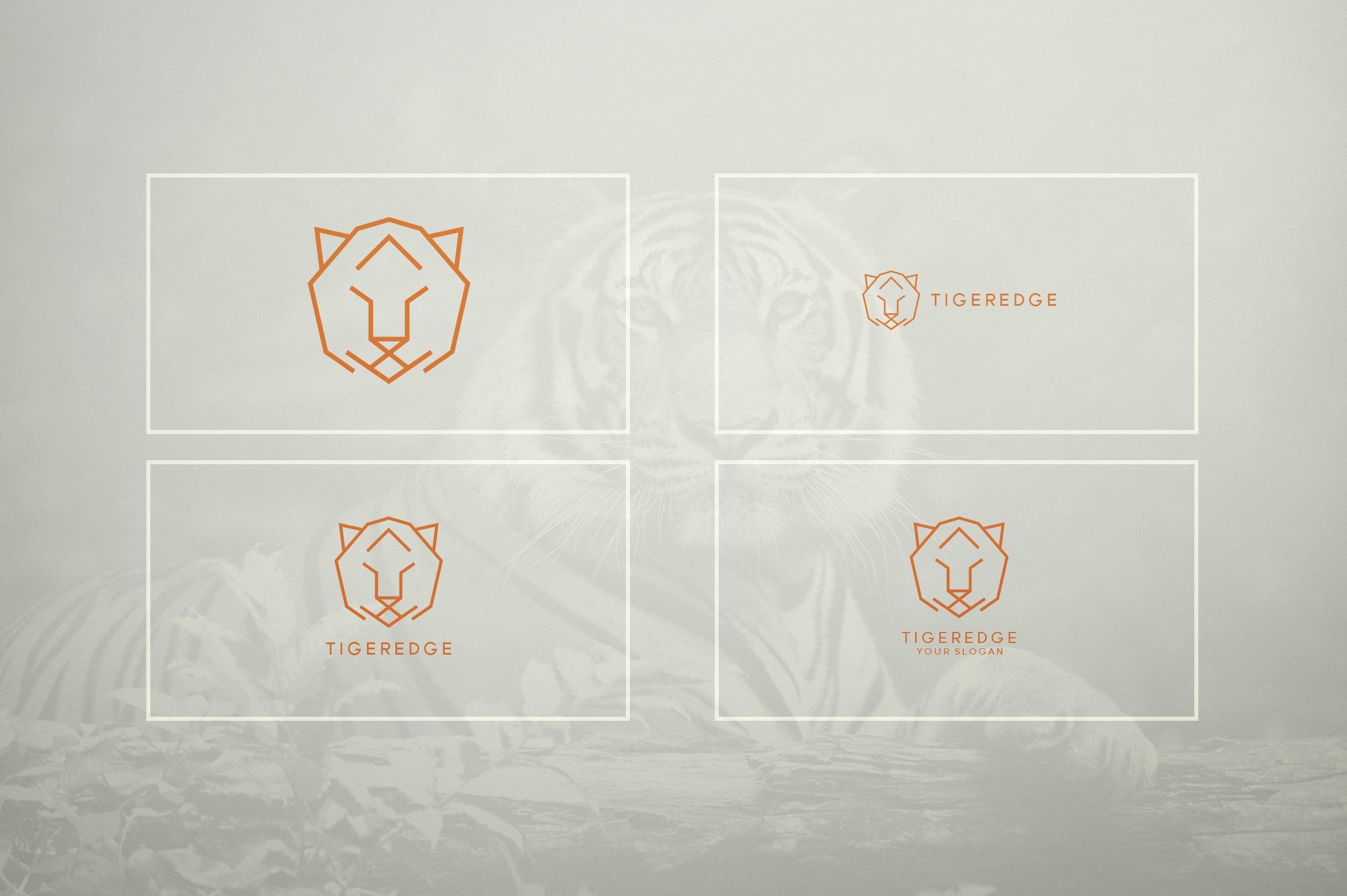17 Geometric Animal Icons and Logos - 24