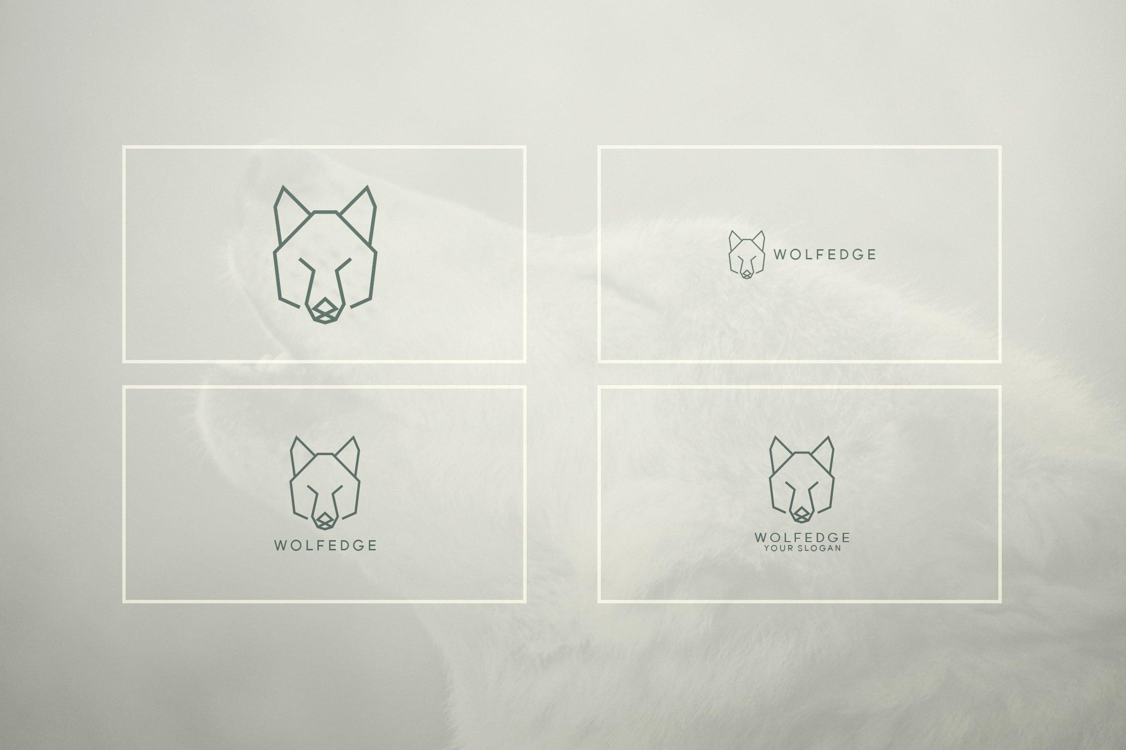 17 Geometric Animal Icons and Logos - 25