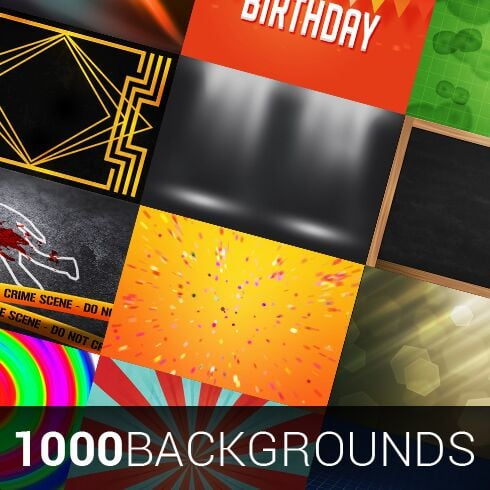 1000 Backgrounds Bundle - 490 1