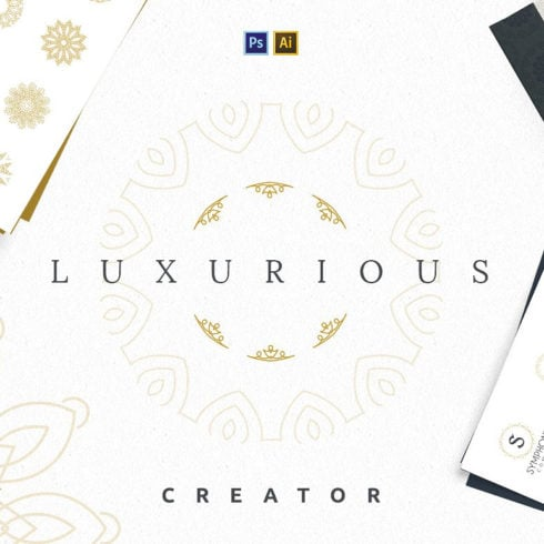 Luxurious Hipster Logo Creator: over 1,000,000 combinations - 490 3 490x490