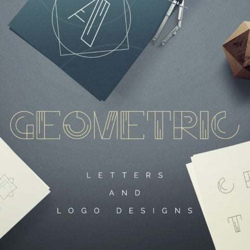Geometric Letters and Logo Designs - just $5 - 490 490x490