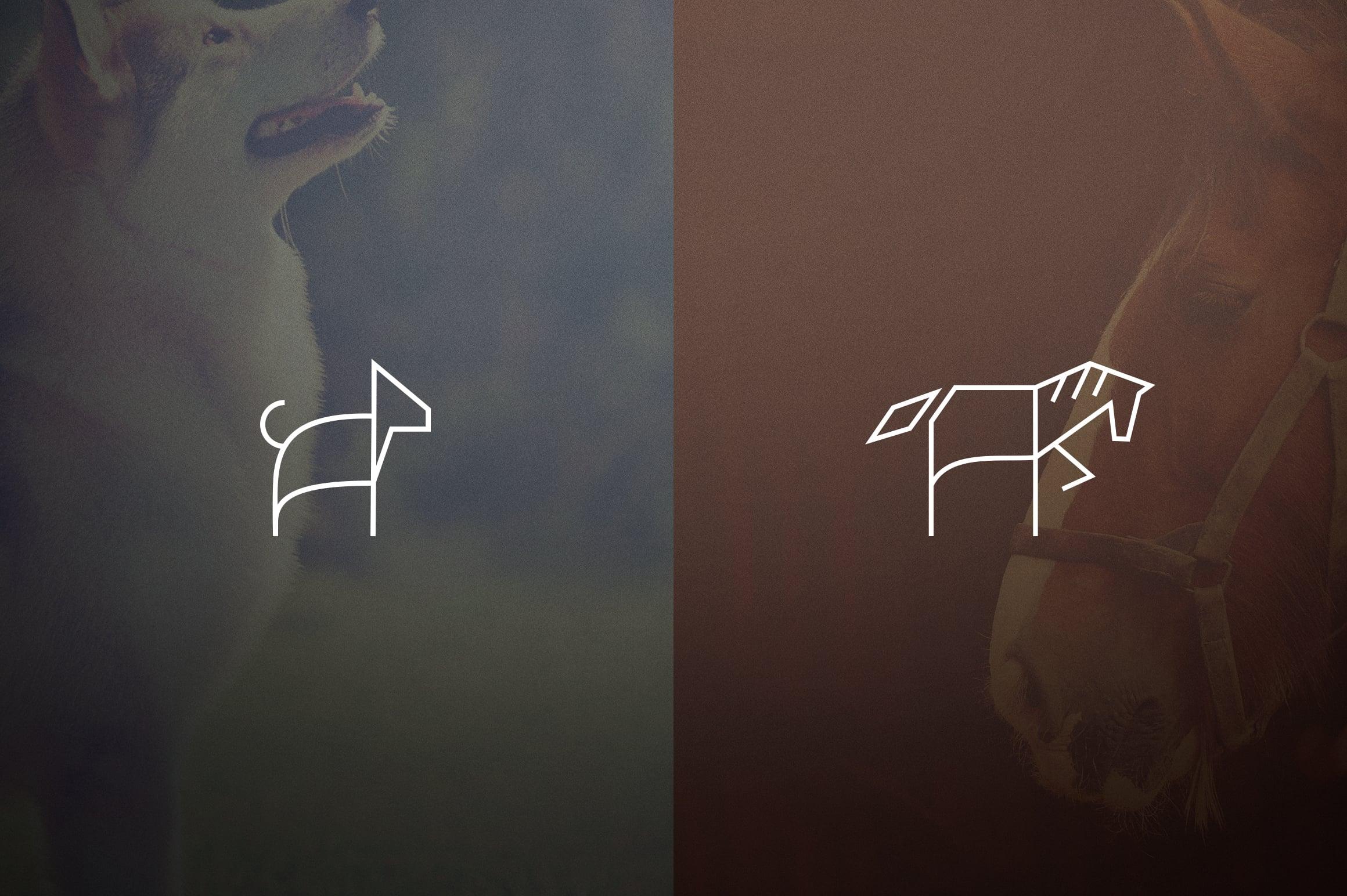 17 Geometric Animal Icons and Logos - 8