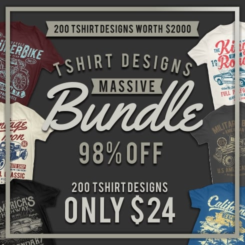 50 Surfing T-shirt Designs - Masterbundles 1