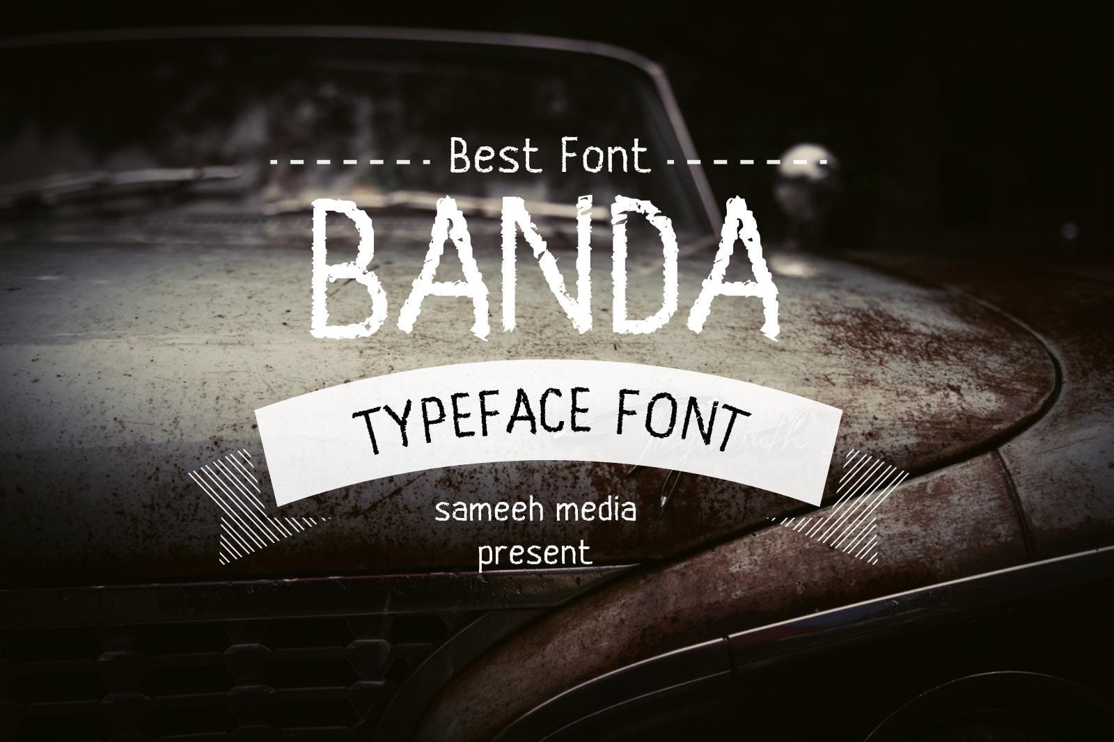 Badass Fonts Bundle - Script, Display, Sans-serif, Monogram - Just $25! - Mega Bundle Sameeh Media 30