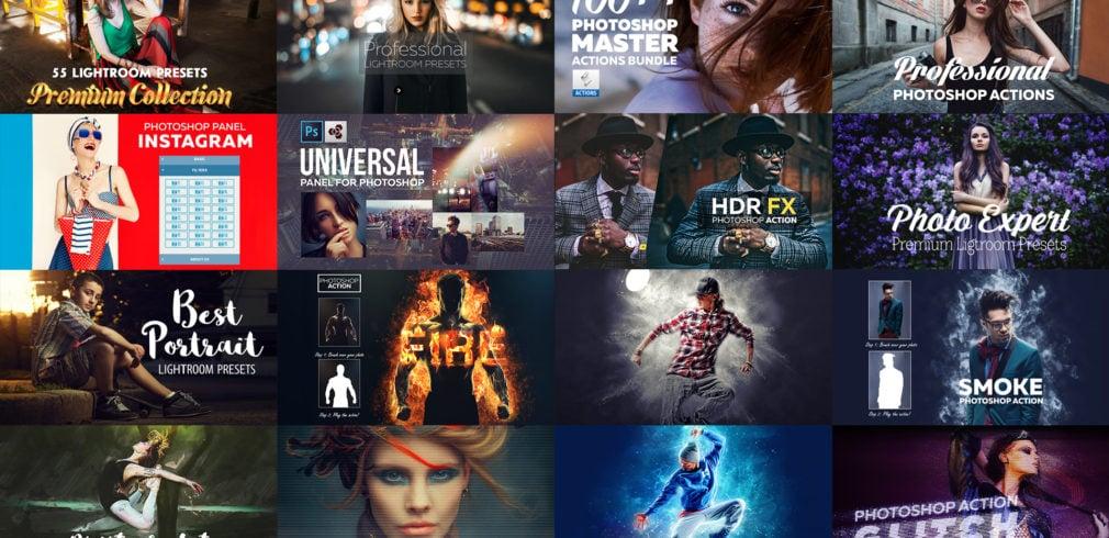Super Bundle: Photoshop Actions and Presets
