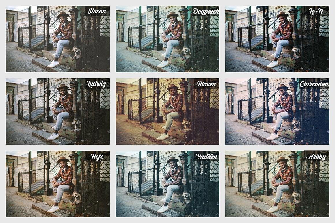 Super Bundle: Photoshop Actions and Presets - s38