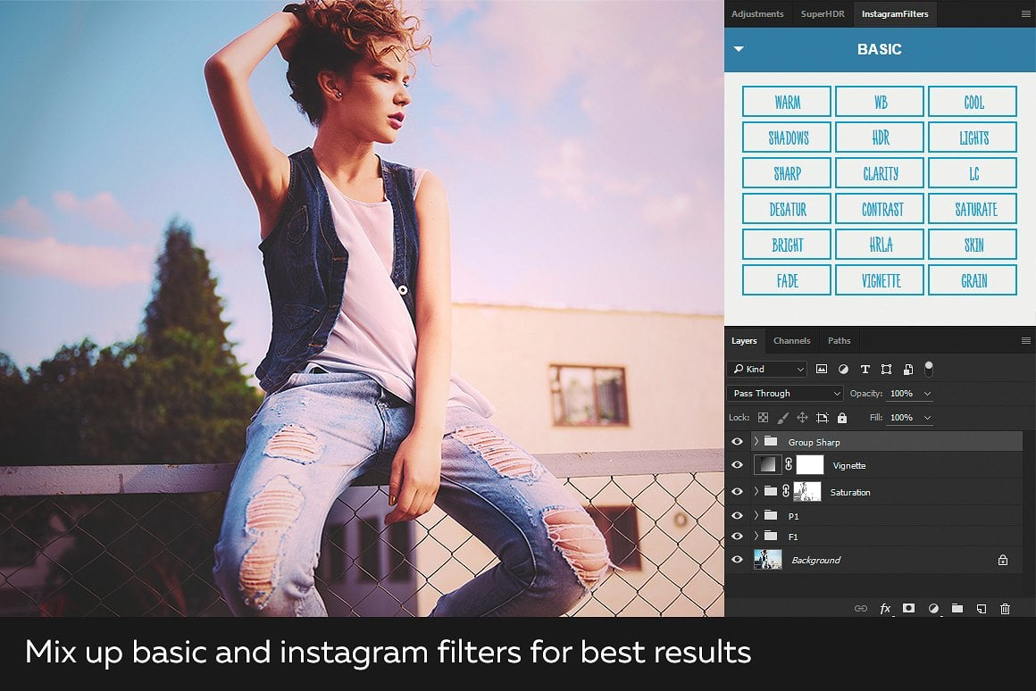 Super Bundle: Photoshop Actions and Presets - screenshot9