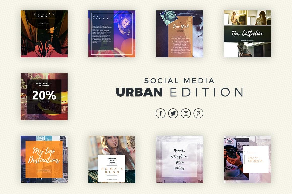 Social Media Bundle - Urban Edition - 0