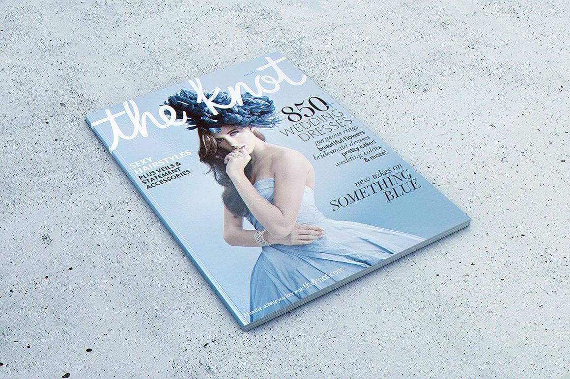 29 Magazine Brochure MockUps (.PSD) + 20 Background Textures. Best Price! - 001
