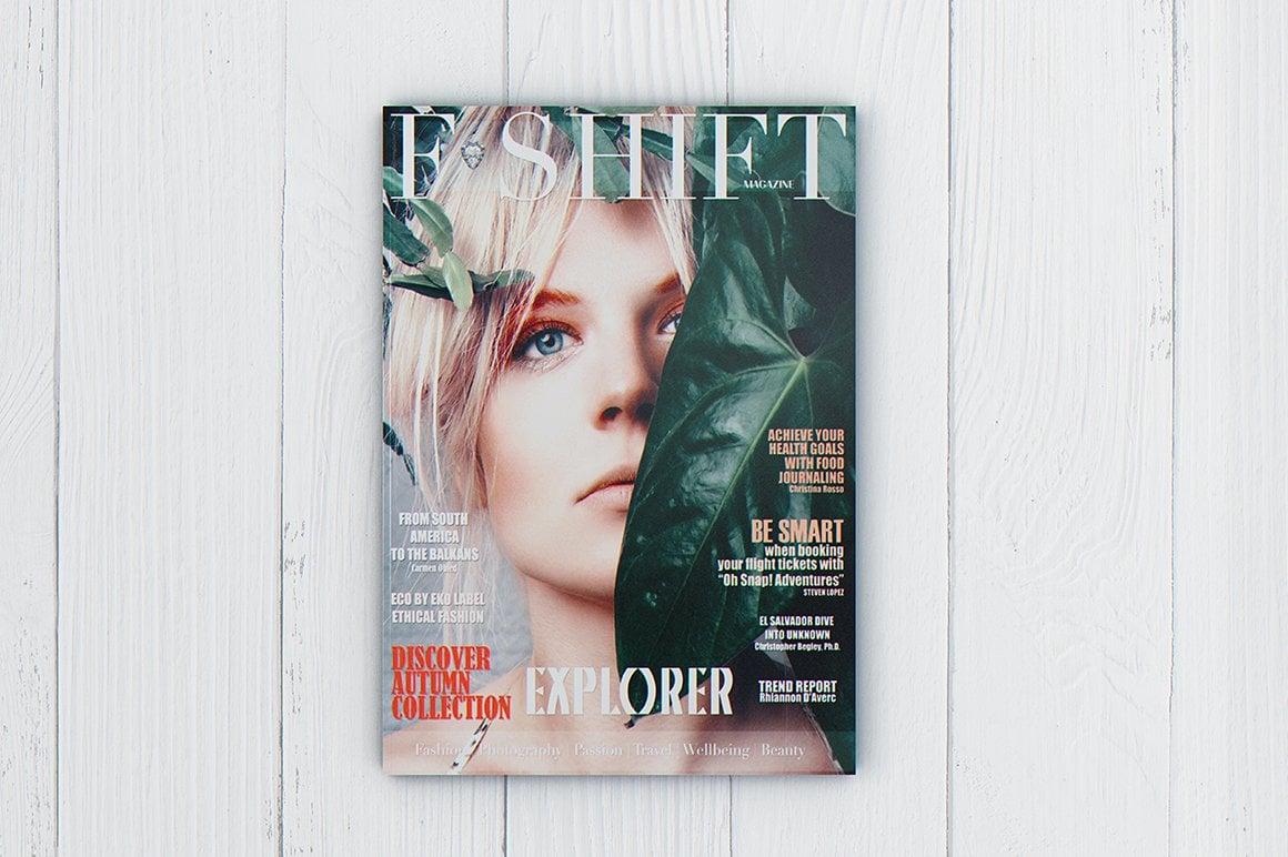 29 Magazine Brochure MockUps (.PSD) + 20 Background Textures. Best Price! - 002 1 1