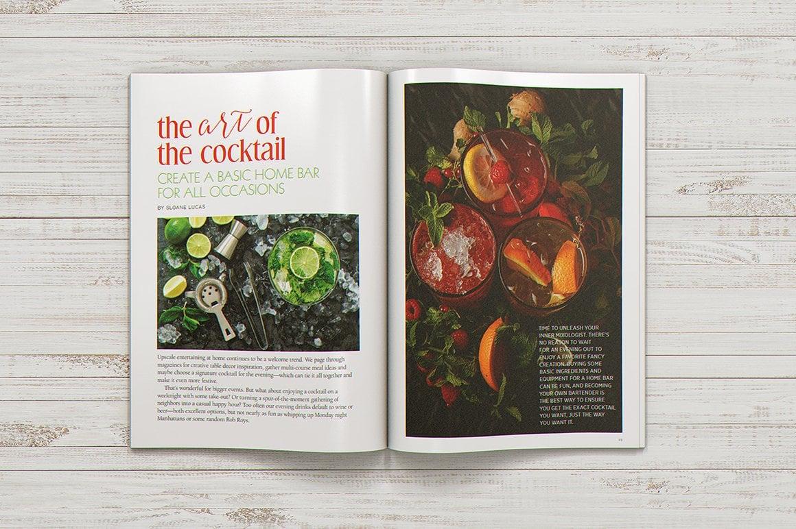 29 Magazine Brochure MockUps (.PSD) + 20 Background Textures. Best Price! - 005