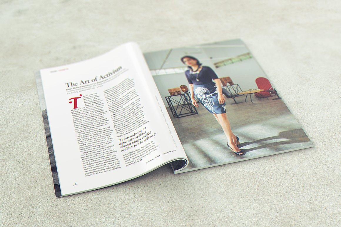 29 Magazine Brochure MockUps (.PSD) + 20 Background Textures. Best Price! - 007 1 1
