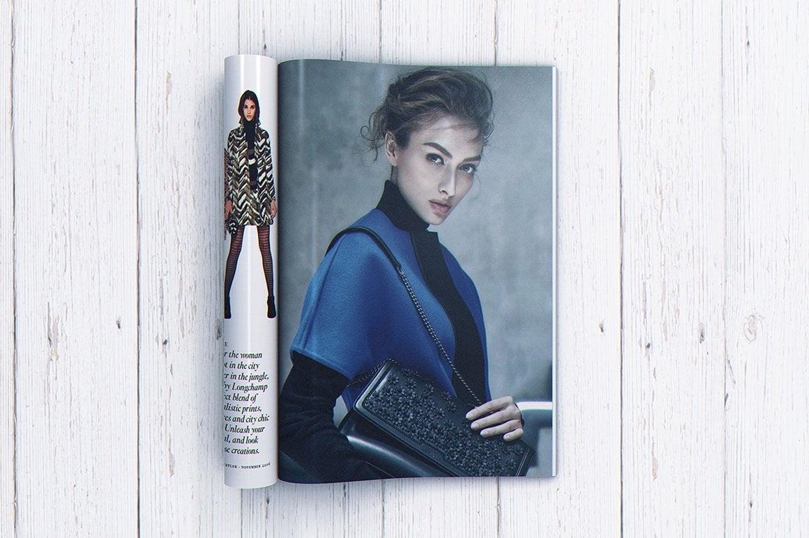 29 Magazine Brochure MockUps (.PSD) + 20 Background Textures. Best Price! - 008