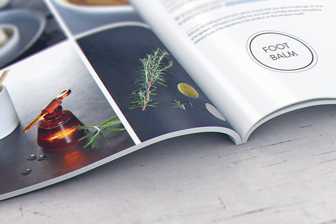 29 Magazine Brochure MockUps (.PSD) + 20 Background Textures. Best Price! - 011