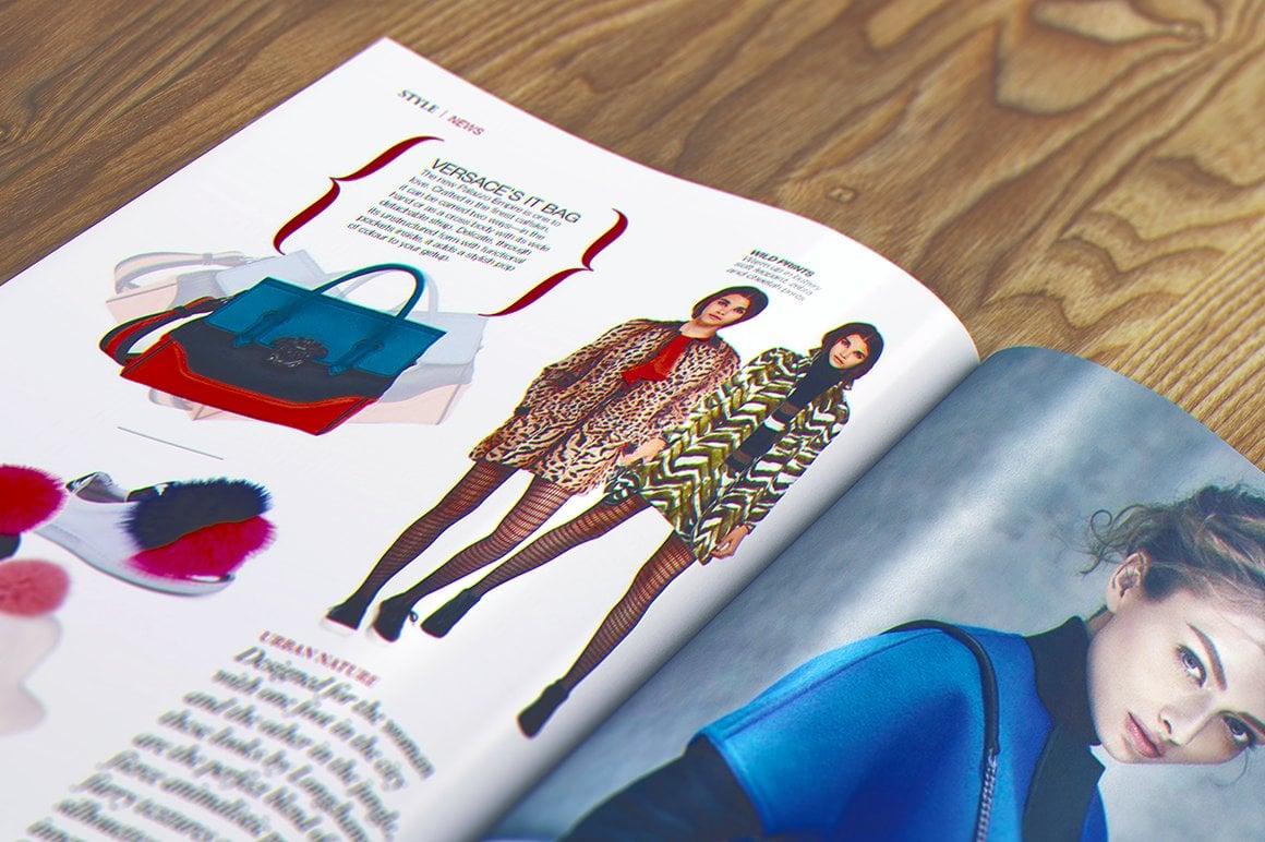 29 Magazine Brochure MockUps (.PSD) + 20 Background Textures. Best Price! - 012